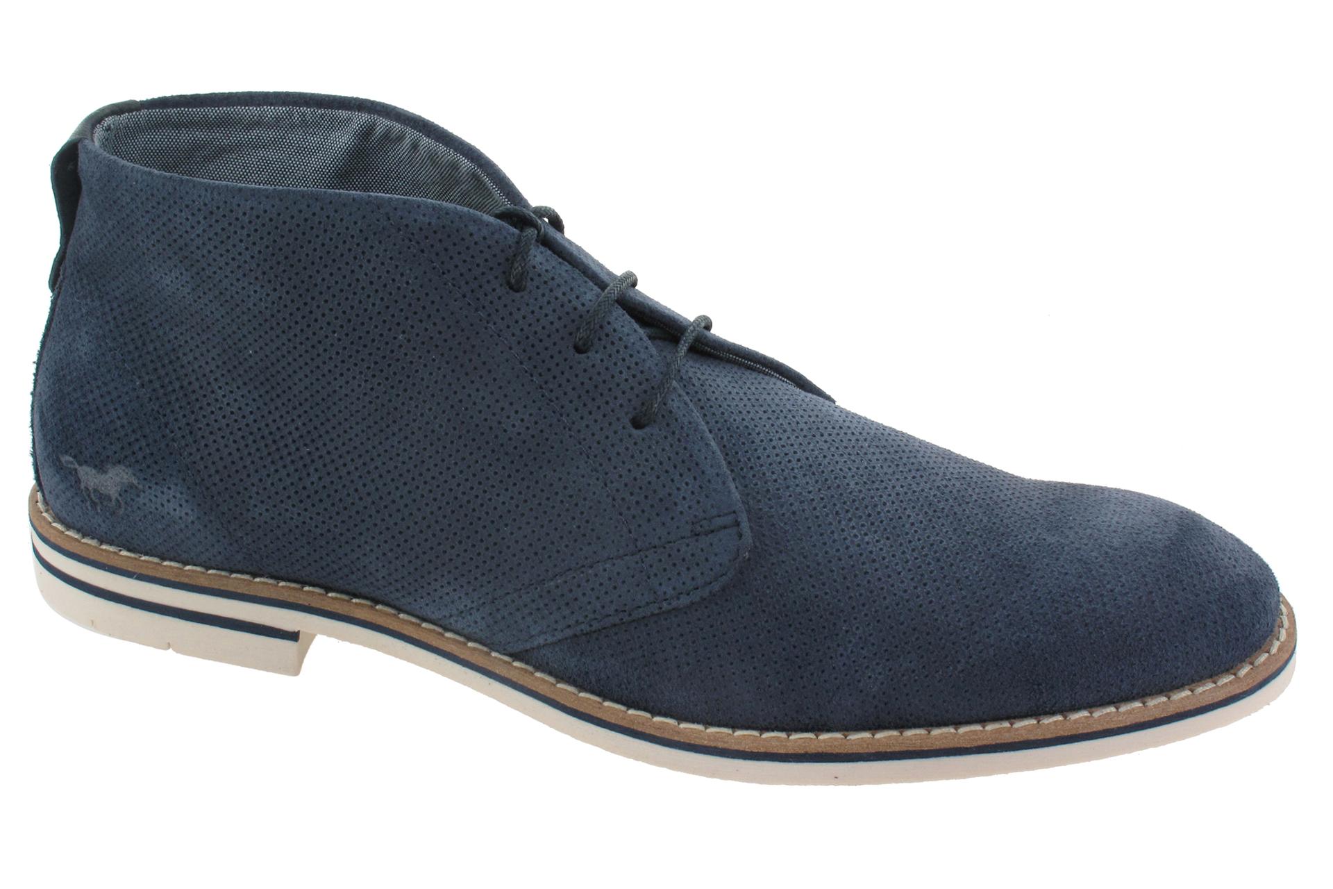 MUSTANG Vycházkové boty modré   SHOEMAKER 40dcb0d63b