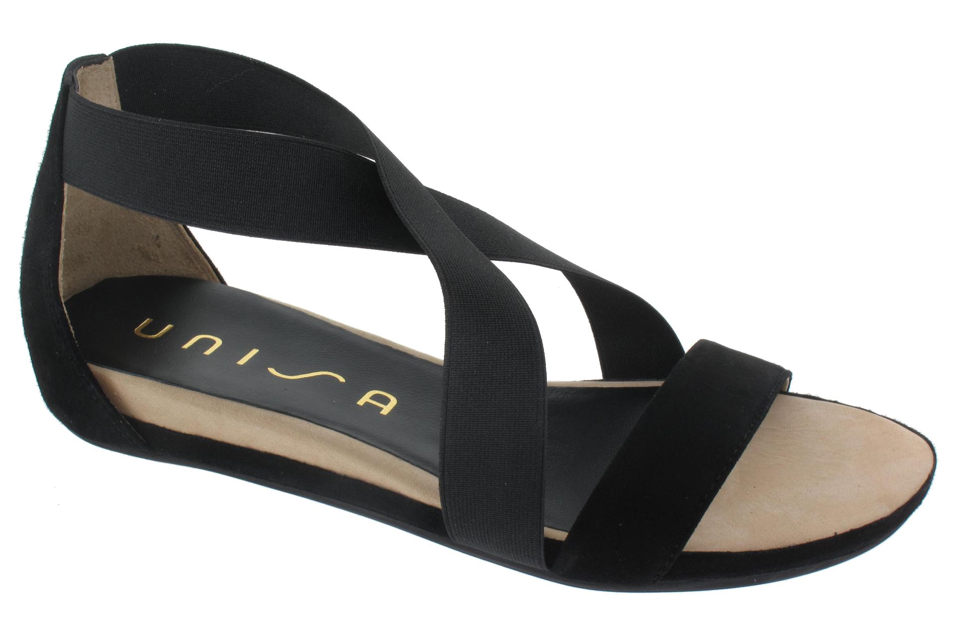 UNISA Černé letní boty   SHOEMAKER f834b7922b