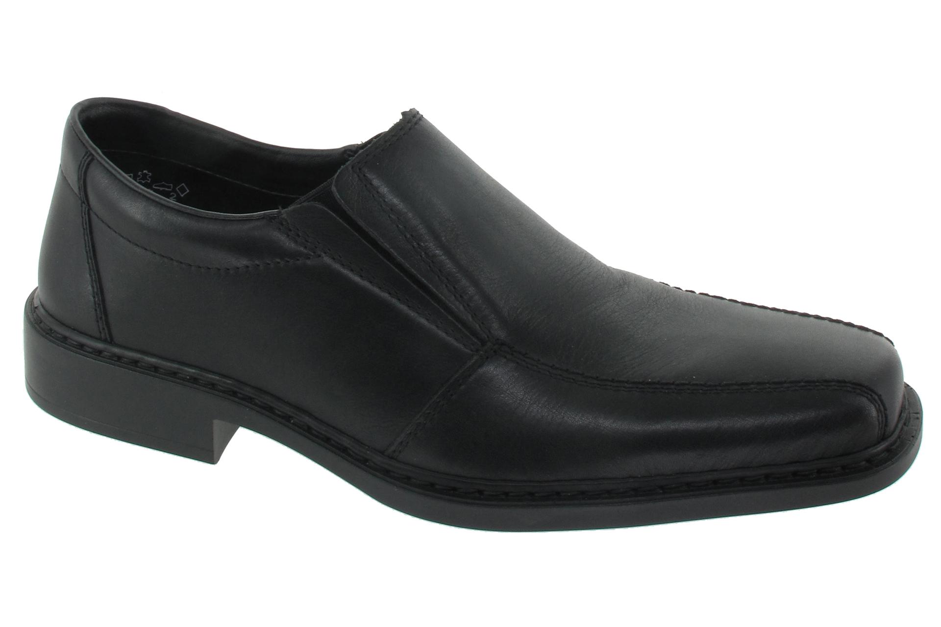 6c82c309156 RIEKER Nazouvací vycházkové boty nero   SHOEMAKER